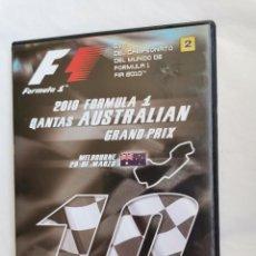 Series de TV: 2010 FORMULA 1 F1 AUSTRALIAN DVD GRAND PRIX. Lote 210318561