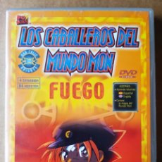 Series de TV: DVD LOS CABALLEROS DEL MUNDO MON: FUEGO (DIVISA/FOX KIDS, 2003). 4 EPISODIOS (VER FOTO ADICIONAL).. Lote 210325947