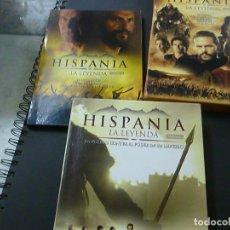 Series de TV: HISPANIA LA LEYENDA - LAS 3 TEMPORADAS - DVD -N. Lote 210327526