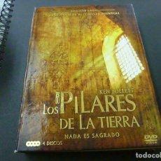Series de TV: LOS PILARES DE LA TIERRA - 4 DVDS - EDICION LUJO -N. Lote 210328415