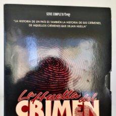 Series de TV: DVD. LA HUELLA DEL CRIMEN. SERIE COMPLETA DE RTVE. ESTUCHE CONTENEDOR+6 DVDS+LIBRETO EXPLICATIVO. Lote 221851951