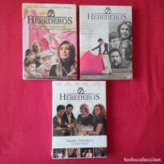 Series de TV: HEREDEROS TEMPORADA 1, 2, 3 PRIMERA SEGUNDA TERCERA COMPLETA CAP 1-37 (PRECINTADAS) CONCHA VELASCO. Lote 210622110