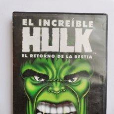 Series de TV: EL INCREÍBLE HULK DVD EL RETORNO DE LA BESTIA. Lote 210746931