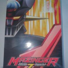 Series de TV: DVD - MAZINGER Z ( ED. IMPACTO ) - SERIE COMPLETA - NUEVO Y PRECINTADO. Lote 210760770