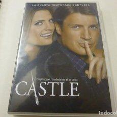 Series de TV: CASTLE - LA CUARTA TEMPORADA COMPLETA -6 DVD -N. Lote 210761429