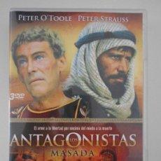Series de TV: MASADA. LOS ANTAGONISTAS. DVD DE LA MINI SERIE DE TELEVISION. CON PETER O'TOOLE Y PETER STRAUSS. COL. Lote 210815299