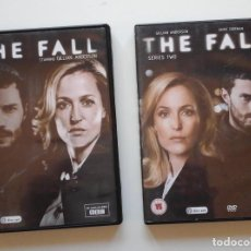 Series de TV: THE FALL, 2 PRIMERAS TEMPORADAS DE LA SERIE. CON GILLIAN ANDERSON Y JAMIE DORNAN. EN INGLÉS.. Lote 210815622
