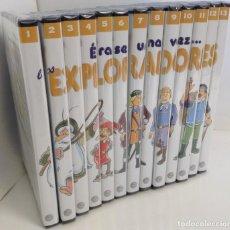 Series de TV: PLANETA DE AGOSTINI: DVD SERIE - ERASE UNA VEZ LOS EXPLORADORES - 13 DVD COMPLETA - SIN USAR. Lote 210832719