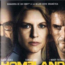 Series de TV: HOMELAND TERCERA TEMPORADA CLAIRE DANES. Lote 210841266