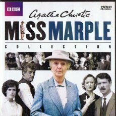 Series de TV: AGATHA CHRISTIE MISS MARPLE COLLECTION ( 12 DVD). Lote 210841400