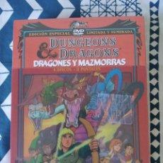 Series de TV: DRAGONES Y MAZMORRAS - SERIE COMPLETA DVD - 4 DISCOS 8 POSTALES - NUEVO. Lote 210938595
