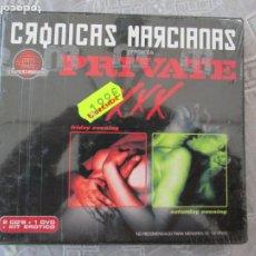 Series de TV: CRONICAS MARCIANAS PRESENTA PRIVATE XXX -PRECINTADO 2 CD,S +1 DVD +KIT EROTICO. Lote 211420625