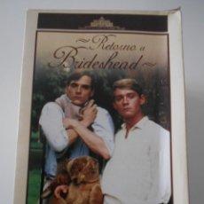 Series de TV: RETORNO A BRIDESHEAD. SERIE COMPLETA EN 11 DVD'S. DEL 5 AL11 NUEVOS A ESTRENAR. LOS OTROS BIEN CONSE. Lote 211427239