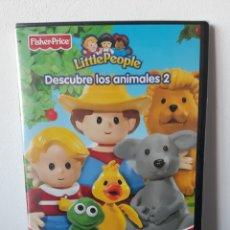 Series de TV: LITTLE PEOPLE. DESCUBRE LOS ANIMALES 2. FISHER PRICE. PRECINTADO.. Lote 211429799