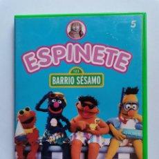 Series de TV: ESPINETE BARRIO SESAMO DVD. Lote 211440161