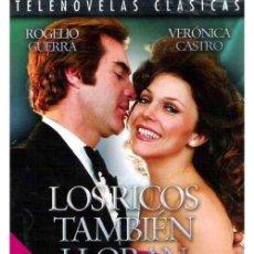 Series de TV: LOS RICOS TAMBIÉN LLORAN TELENOVELA EN DVD. Lote 211480995