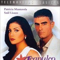 Series de TV: ACAPULCO CUERPO Y ALMA TELENOVELA DVD. Lote 211481222