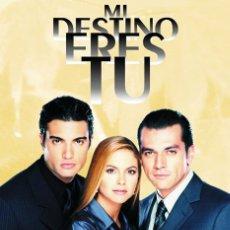 Series de TV: MI DESTINO ERES TÚ TELENOVELA DVD. Lote 211481345