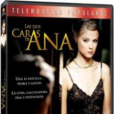 Series de TV: LAS DOS CARAS DE ANA TELENOVELA DVD. Lote 211481804