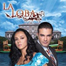 Series de TV: LA LOBA TELENOVELA DVD. Lote 211483632