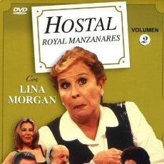 Series de TV: HOSTAL ROYAL MANZANARES DVD. Lote 211484954