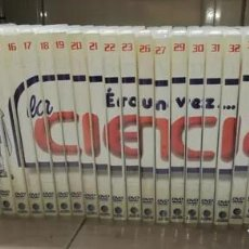 Series de TV: DVDS ERASE UNA VEZ LA CIENCIA (INCOMPLETA) SERIE INCOMPLETA. Lote 211607540