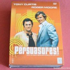 Series de TV: LOS PERSUASORES - ROGER MOORE - TONY CURTIS - SERIE BRITANICA DE LOS 70 - 8 DVD. Lote 211684476
