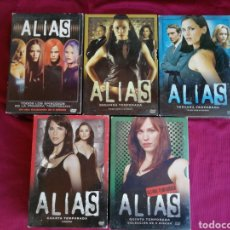 Series de TV: ALIAS. SERIE COMPLETA. CINCO TEMPORADAS CON 29 DVDS. Lote 211784425