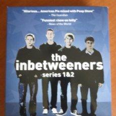 Series de TV: THE INBETWEENERS - SERIES 1 & 2 - 2-DVD BOXSET. BUEN ESTADO. Lote 211858288