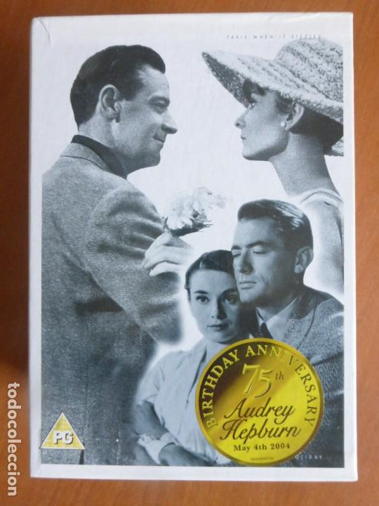 AUDREY HEPBURN 75 BIRTHDAY ANNIVERSARY SPECIAL COLLECTION 5 DVD BOX SET - BUEN ESTADO (Series TV en DVD)
