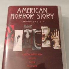 Series de TV: AMERICAN HORROR STORY TEMPORADAS DE LA 1 A LA 6 EN DVD. Lote 212650566