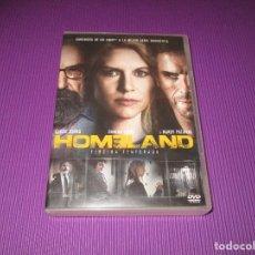 Series de TV: HOMELAND ( TERCERA (3) TEMPORADA ) - 4 DVD - F5-SES 5928509 - CLAIRE DANES - DAMIAN LEWIS .... Lote 213229827
