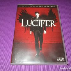 Series de TV: LUCIFER ( SEGUNDA (2) TEMPORADA COMPLETA ) - 3 DVD - F5-SES 7975209 - WARNER. Lote 213230206