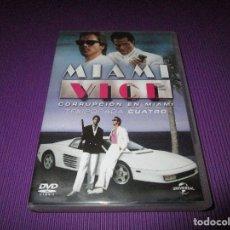 Series de TV: MIAMI VICE ( CORRUPCION EN MIAMI / CUARTA (4) TEMPORADA ) - 6 DVD - 81860 - UNIVERSAL. Lote 213779546