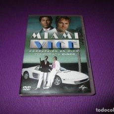 Series de TV: MIAMI VICE ( CORRUPCION EN MIAMI / CINCO (5) TEMPORADA ) - 6 DVD - 81861 - UNIVERSAL. Lote 213779752