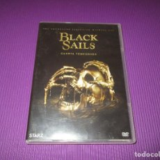 Series de TV: BLACK SAILS ( CUARTA TEMPORADA ) - 4 DVD - F5-SES 8264309 - STARZ. Lote 213948162