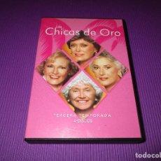 Series de TV: LAS CHICAS DE ORO ( TERCERA (3) TEMPORADA ) - 4 DVD - TOUCHSTONE. Lote 213949005