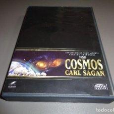Series de TV: COSMOS / SERIE DE TELEVISIÓN COMPLETA / DOCUMENTAL / CARL SAGAN / COFRE 7 DVD. Lote 213958362