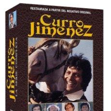Series de TV: CURRO JIMENEZ SERIE COMPLETA / RESTAURADA -DVD R2- ESPAÑOL - PRECINTADA *** 2000 MINUTOS DE METRAJE. Lote 213976792