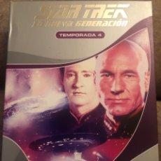 Series de TV: STAR TREK LA NUEVA GENERACIÓN TEMPORADA 4. Lote 214053653