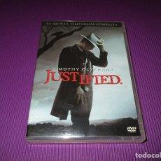 Series de TV: JUSTIFIED ( LA QUINTA (5) TEMPORADA COMPLETA ) - 3 DVD - 09274 - SONY - TIMOTHY OLYPHANT. Lote 214096152