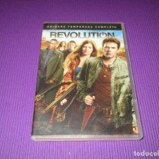 Series de TV: REVOLUTION ( PRIMERA (1) TEMPORADA COMPLETA ) - 5 DVD - WARNER BROS. Lote 214409516