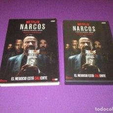 Series de TV: NARCOS ( TERCERA (3) TEMPORADA ) - 4 DVD - EL NEGOCIO ESTA CALIENTE. Lote 214409811