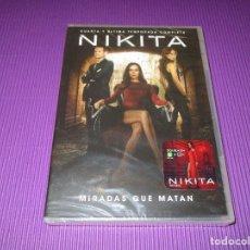 Séries TV: NIKITA ( CUARTA (4) Y ULTIMA TEMPORADA COMPLETA ) -DVD - WARNER - PRECINTADA - MIRADAS QUE MATAN. Lote 214410846