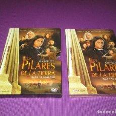 Series de TV: LOS PILARES DE LA TIERRA - 4 DVD - 00857 - AURUM - KEN FOLLETT - NADA ES SAGRADO. Lote 214498897