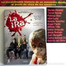 Series de TV: LA IRA DVD MINI SERIE PELÍCULA TV INSP. HECHO REAL DANIEL CALPARSORO VICO LUNA NOVAS CRIMEN BETANZOS. Lote 214543072