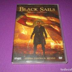 Series de TV: BLACK SAILS ( TERCERA (3) TEMPORADA ) - 4 DVD - F5-SES 6846109 - STARZ - GUERRA CONTRA EL MUNDO. Lote 214892170