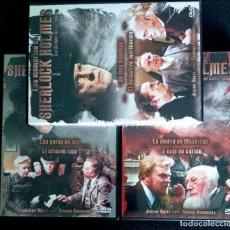 Series de TV: PACK 3 DVD SERIE LAS MEMORIAS DE SHERLOCK HOLMES (6 CAPÍTULOS) 1993 JEREMY BRETT. Lote 215360857