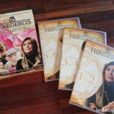 Series de TV: HEREDEROS PRIMERA TEMPORADA COMPLETA EN 6 DVD. Lote 215660250