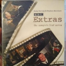 Series de TV: BBC EXTRAS - RICKY GERVAIS - STEPHEN MERCHANT - PRIMERA TEMPORADA - FIRST SEASON - INGLES 2 DVDS. Lote 216493116